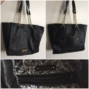 Betsey Johnson Little Bow Chic Faux Leather Tote